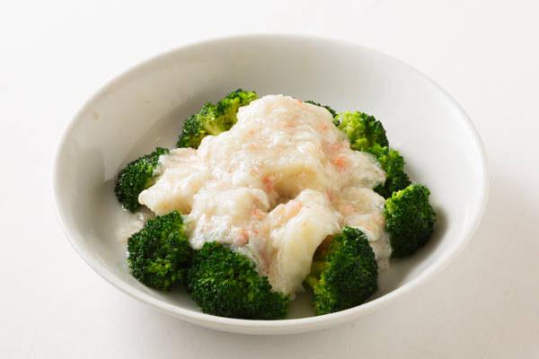白身魚のカニ肉あんかけ Sサイズ:1100円 Mサイズ:2200円
