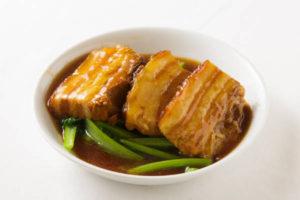 豚バラ肉の煮込み Sサイズ(3枚)1100円 Mサイズ(6枚)2200円