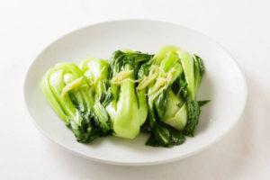 チンゲン菜の炒め Sサイズ:750円 Mサイズ:1700円