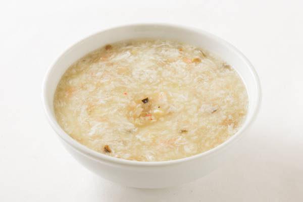 海鮮入りとろみスープ Sサイズ:1000円 Mサイズ:2000円